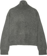 Rejina Pyo - Cropped Cashmere Turtleneck Sweater - Anthracite