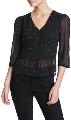 Marcs Lucky Embroidered Top