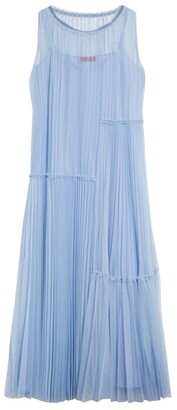 Max & Co. Premiato Pleated Maxi Dress