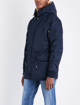 Sandro Hooded quilted coat
