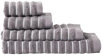 Esprit Seville Bath Towel Range Steel Bath