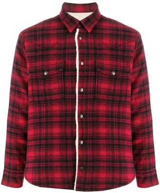 Saint Laurent Western-style shirt jacket