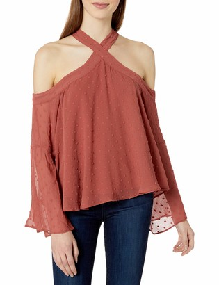 The Fifth Label Women's Freya Cold Shoulder Bell Sleeve Top