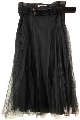 Christian Dior Black Cotton Skirt for Women
