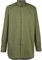 Givenchy long-length shirt - men - Cotton - 39