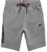 Nike Cotton-Blend Tech-Fleece Shorts