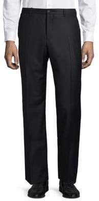 Giorgio Armani Flat-Front Trousers