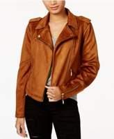Joujou Jou Jou Faux-Suede Moto Jacket