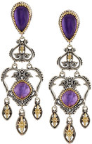 Konstantino Erato Amethyst Doublet Chandelier Earrings