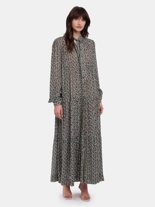 LES COYOTES DE PARIS Pina Puff Sleeve Maxi Dress