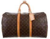 Louis Vuitton Monogram Keepall 50