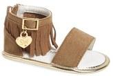 Stuart Weitzman Infant Girl's Fringe Sandal