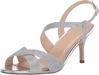 Paradox London Pink womens Hogan Heeled Sandal