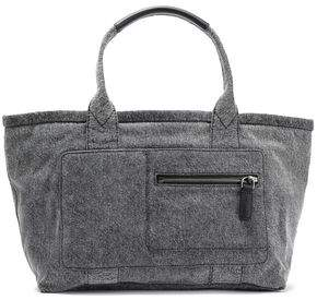 Marc Jacobs Leather-trimmed Denim Tote