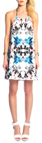 Donna Mizani Halter Mini Shift Dress