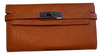 Non Signã© / Unsigned Orange Leather Wallets