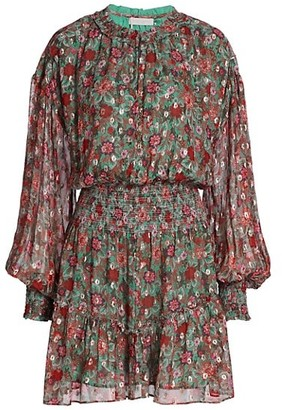 Ramy Brook Blake Floral Mini Dress
