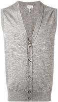 Brioni - buttoned vest - men - Silk/Cashmere - 56