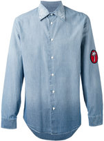 Marc Jacobs palm patch denim shirt - men - Cotton - 48