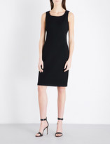 St. John Milano wool-blend dress