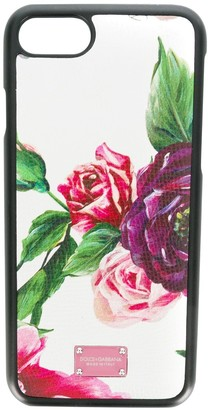 Dolce & Gabbana peony print iPhone 8 case