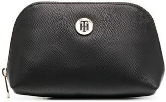 Tommy Hilfiger Logo-Plaque Make Up Bag