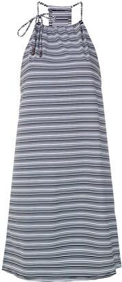 Track & Field Rede striped dress