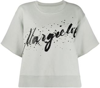 MM6 MAISON MARGIELA graphic logo print T-shirt
