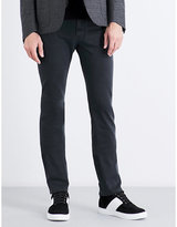 Corneliani Slim-fit tapered stretch-cotton trousers