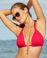 LaBlanca La Blanca Ruched Halter Bikini Top