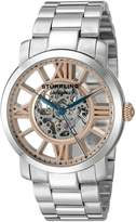 Stuhrling Original Men's Legacy Automatic Self-Wind 280B.331114 Stainless Steel Link Bracelet Casual Watch