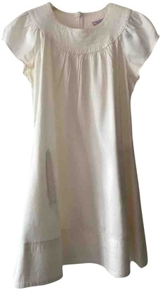 Calypso St. Barth White Silk Dress for Women Vintage