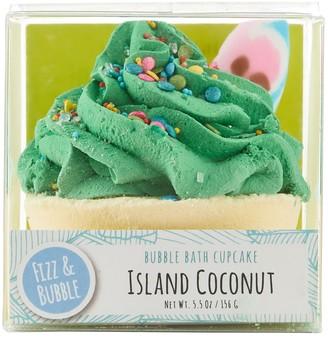 Fizz & Bubble Island Coconut Bubble Bath Cupcake