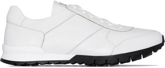 Kiton Contrast Sole Classic Sneakers