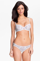 Betsey Johnson Floral Tulle Thong