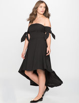 ELOQUII Plus Size High Low Gown