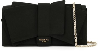 Paule Ka Big Bow Deco Clutch Bag