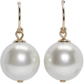 Simone Rocha Ivory Little Pearl Drop Earrings