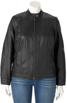 Apt. 9 Plus Size ̈ Faux-Leather Moto Jacket