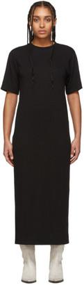 Ami Alexandre Mattiussi Black T-Shirt Dress