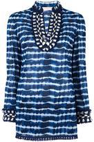 Tory Burch tie-dye tunic top - women - Cotton - 2