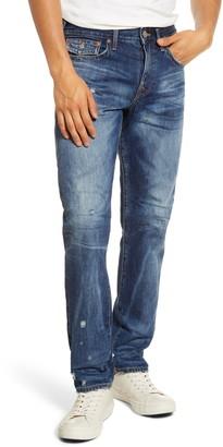 True Religion New Geno Distressed Skinny Fit Jeans