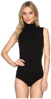 Wolford Viscose String Bodysuit - Turtleneck Women's Underwear