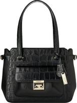 LK Bennett Niki croc-embossed leather tote bag