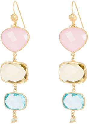 Gas Bijoux Silene Drop Earrings