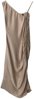 Barbara Casasola Beige Cotton - elasthane Dress for Women