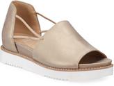 Eileen Fisher Ken Metallic Leather Wedge Sandals
