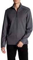 Calvin Klein Long Sleeve Jacquard Quarter Zip Pullover
