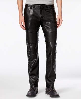 INC International Concepts Inc Men Slim-Fit Faux Leather Pants