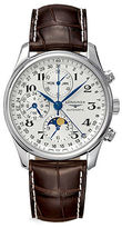 Longines Mens Master Collection Automatic Moon Phase Chronograph Watch